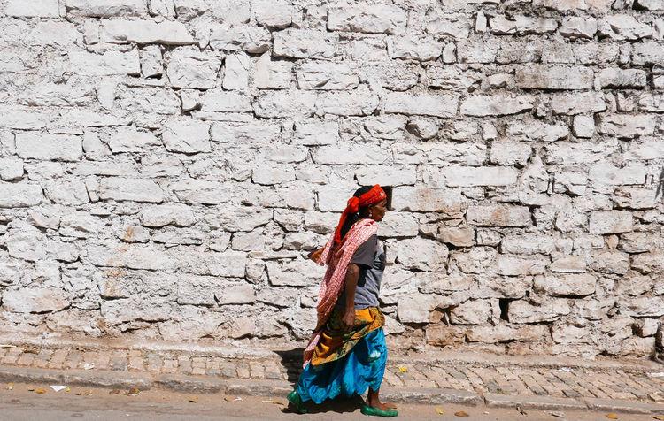 #Africa #Ethiopia #africanlife #africanstreet #streetphotography #walking #wall #windswept