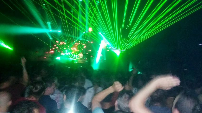 Hands Up Hands Up In The Air People Dancing Music Festival People Dancing Dancing Around The World Lasershow Lasers Light Show Underworld Festive Season Festival Season