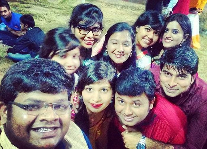 When Dandia is the only thing you can think about in Navaratra... Palacegrounds Dandia Peeps Muchfun Latenight