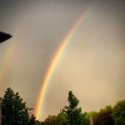 Rainbow Rainbows Rain Regenbogen Instanature