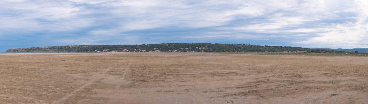 Beach Nature Panorama Plage Sky Trees