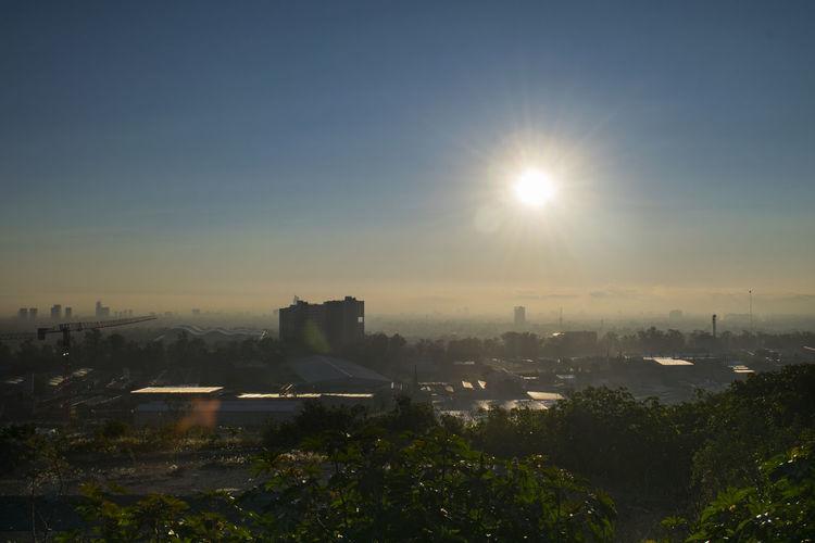 @RRebolledo DSLR Guadalajara Mexico Building Exterior Cityscape Dawn Day Foggy Morning High Angle View Nikonphotography No People Outdoors Sky Sun Sunlight