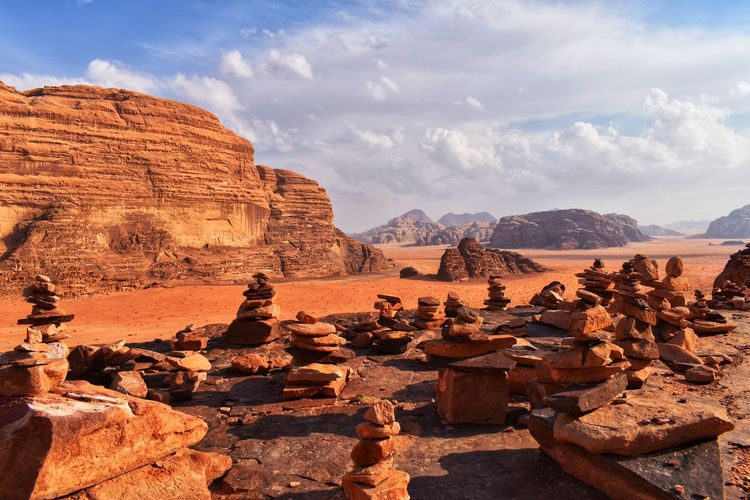 Rock Sky Rock - Object Rock Formation Mountain Solid Nature Beauty In Nature Cloud - Sky Scenics - Nature Travel Tranquility Travel Destinations Tourism No People Environment Tranquil Scene Physical Geography Non-urban Scene Mountain Range Outdoors Arid Climate Formation Climate Sandstone