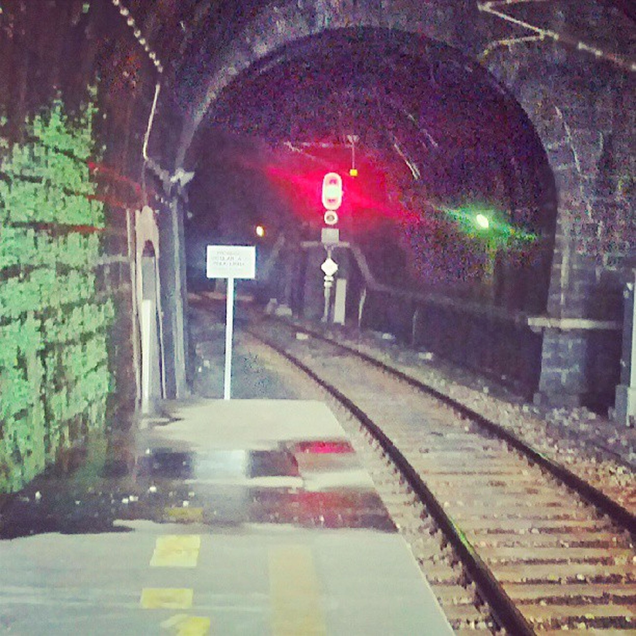 the way forward, arch, illuminated, architecture, built structure, transportation, indoors, tunnel, red, lighting equipment, street light, empty, wall - building feature, night, diminishing perspective, road, entrance, street, railroad station, no people