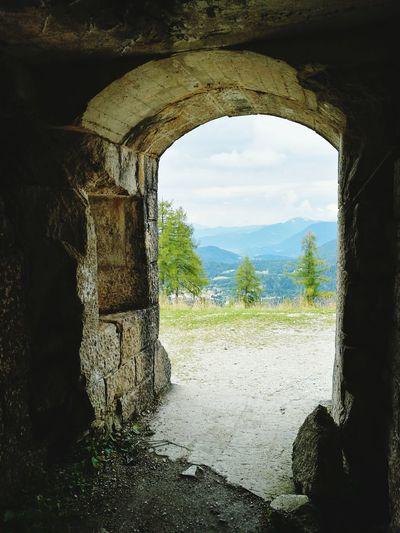 Forte Cherle Forte Uscita Fuori Dal Tunnel Folgaria