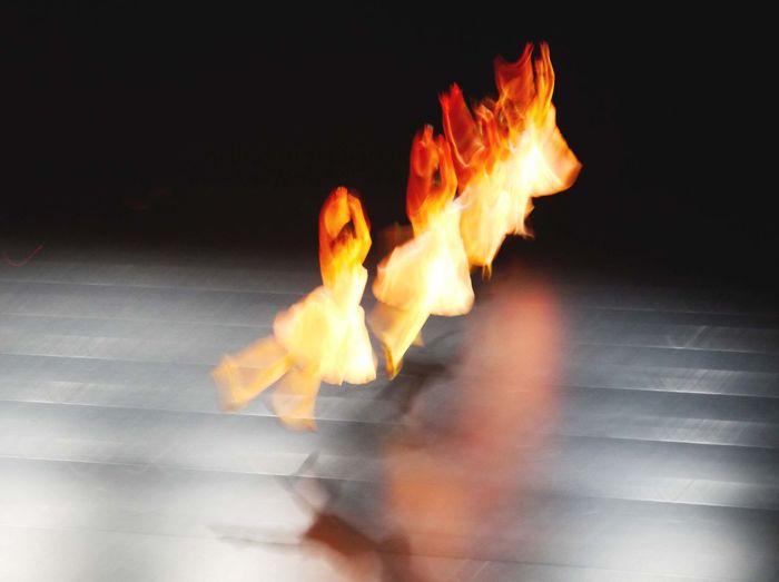 Art Classical Dance Dance Flame Heat - Temperature Movement Night Sport