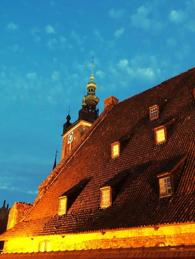 Gdansk Poland Built Structure Architecture Building Exterior Building Sky Travel Destinations Low Angle View Travel Old History Tower The Past No People City Outdoors