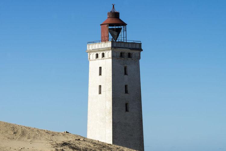 Lighthouse in the sand dunes of Rubjerg Knude in Denmark Light Light Reflection Lighthouse Løkken Skandinavien Denmark Denmark Love ❤️ North Jutland Seascape Photography Rubjerg Knude, Seascape