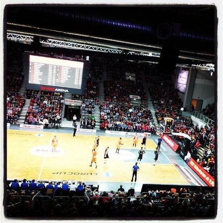 Eurocup  Brose Baskets Brosebaskets basketball bbl beko bamberg freakcity bekobbl spalding brosearena