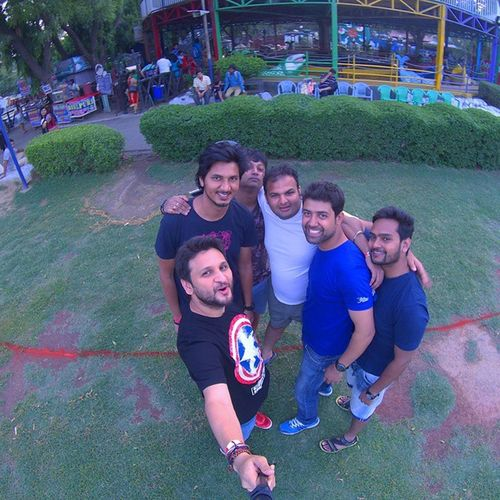 Boys Day Out ......@ Funnfood Waterpark Beattheheat Selfie Drift Ghosts Monopod Driftghosts Ankitdogra