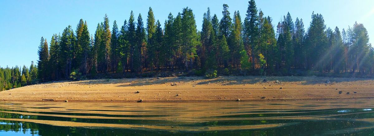 Lake is getting low. Lake View Stumpy Meadows Landscape Nature Mountains