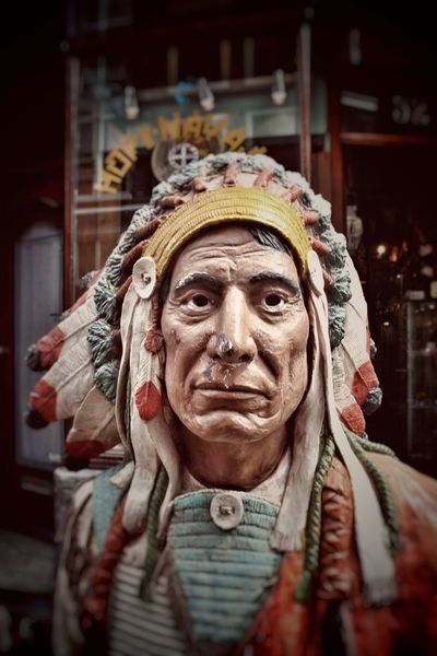 American Indian Native American Indian Native American Native American Art Fresh On Eyeem  Funny Mannequin Staring Staringcontest Staring At You Prying Eyes Watching Looking I See You Eyes Watching You Eyes