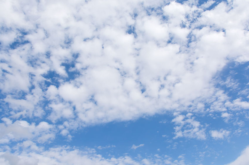 blue sky with cloud Clear Sky Cloud Cloudscape Copy Space Light Nature Skyline Sunlight View Weather Air Backgrounds Beauty In Nature Blue Clouds And Sky Day Daylight Ozone Pattern Scene Scenery Sky Summer White Wind