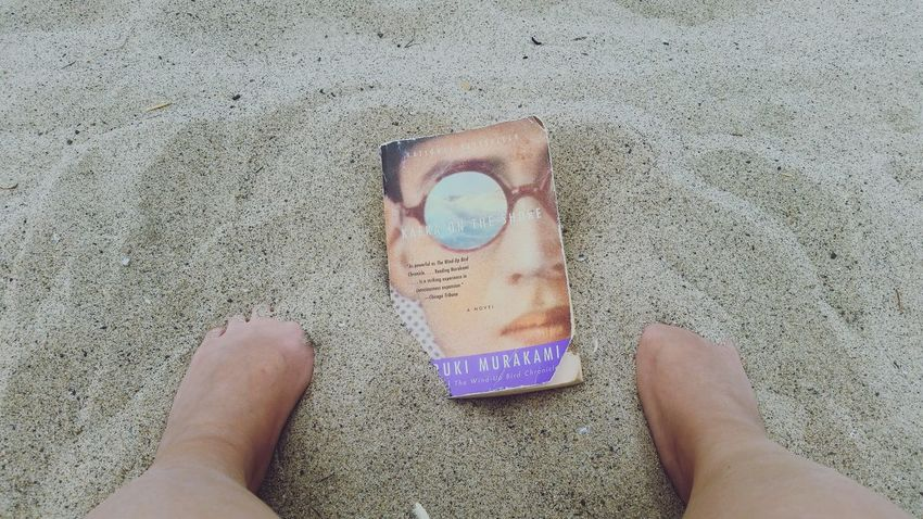 Holiday POV Haruki Murakami Book Literature Sand Weekend Getaway
