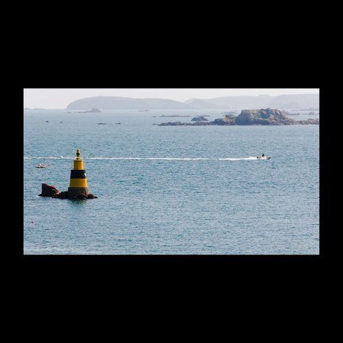 De l'île de Bréhat. Sea Seaside EyeEm Best Shots EyeEmbestshots île De Brehat Bréhat Boats Seascape EyeEmBestPics Phare