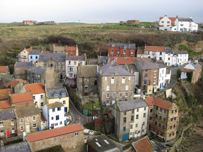 Whitby Coastal Coastal Life Buildings & Sky Working Hard Dracula Bram Stoker Amazing View Neighborhood Map High Angle View Togetherness Rooftop
