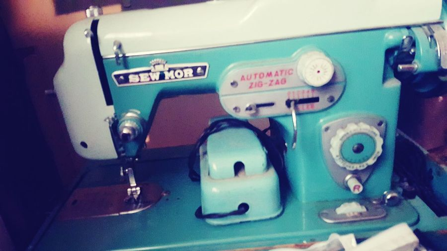 Old-fashioned Retro Styled Sewing Machine Technology Ol' Days Oldschool The Week On EyeEm Back In The Days Week On Eyeem