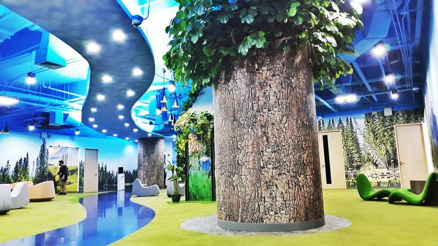 My workplace! 😍 Working Hard Architecture Nature Tree Modern Tranquility Happyplace Illuminated No People Outdoors Day