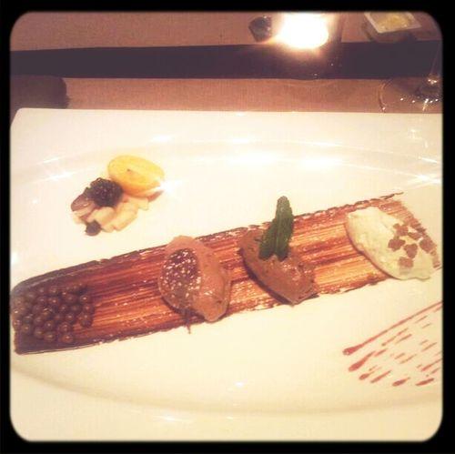 Een dessert met een remspoor. Sinds @jerremeus is men nergens meer verlegen voor.