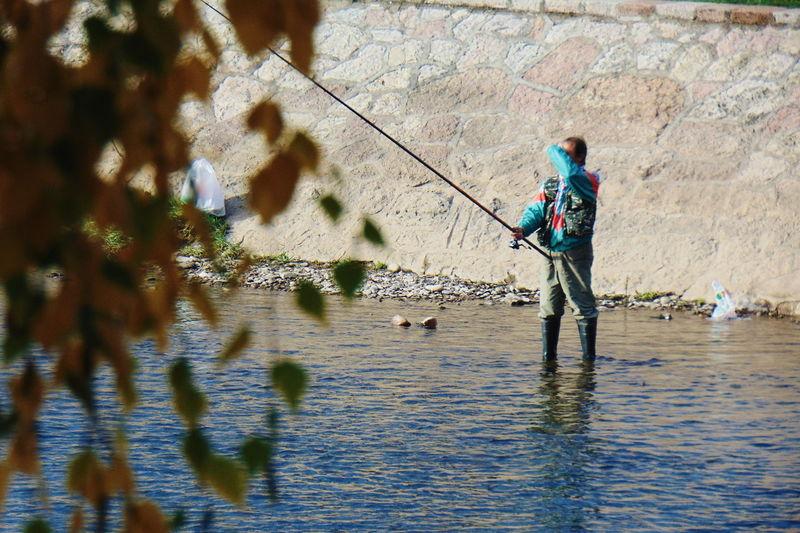 Fisherman Life In Serbia Serbia,nis Serbia River Fishing