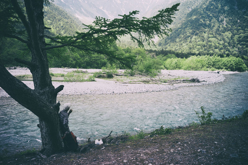 上高地 Landscape Photography Landscape_Collection The Human Condition Nature 梓川 EyeEm Nature Lover Taking Photos Popular Photos