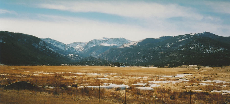 Colorado. Filmisnotdead Kodakektar100 Rocky Mountains Film Panorama Landscapes With WhiteWall The Great Outdoors - 2016 EyeEm Awards