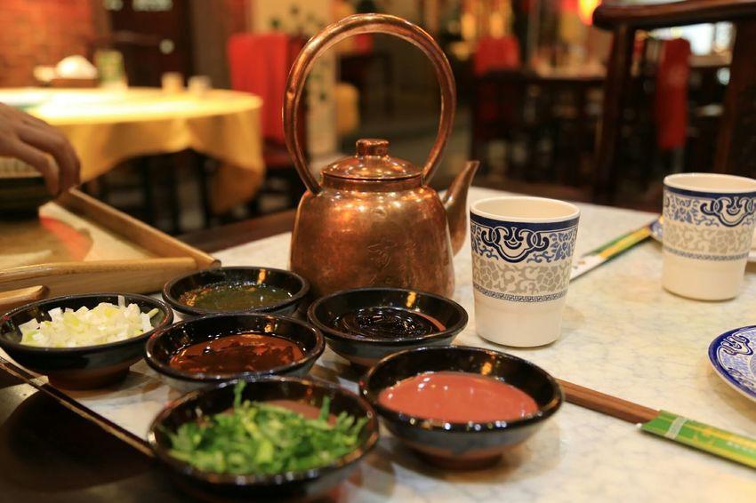 Teapot Hotpot Chinese Traditional Food Hotpot Dinner