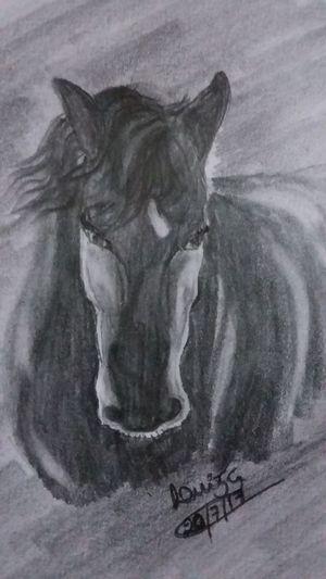 MyArt🎨 MyDrawing Blackandwhite Pencil Drawing