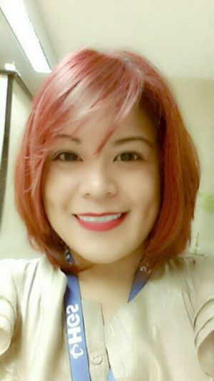 just smile New Hair Cut Redhair Just Smile  Dimples :)