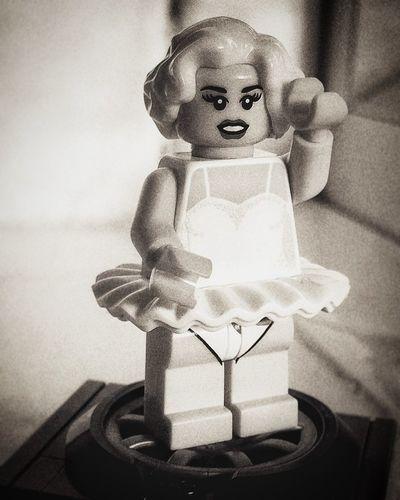 Marilyn Mon-Lego LEGO Lego Minifigures Minifigures Marilyn Monroe Normajeane Legophotography Itsabrickthing First Eyeem Photo