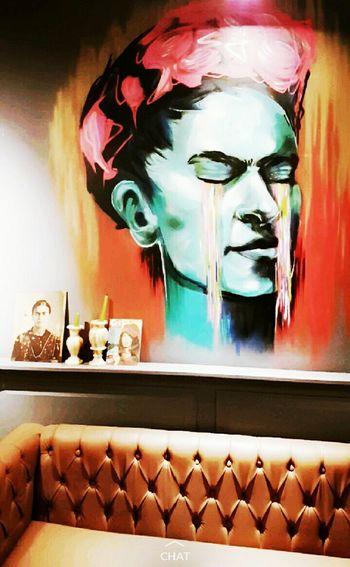 Allthepeopleoftheworld Frida Fridakahlo FridaKahlo 🐾 Day One Person People Human Skull Frida Kahlo Fridakalo ShareTheMeal capturing motion Working First Eyeem Photo Archival
