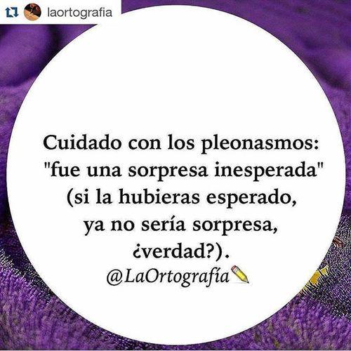 Repost @laortografia with @repostapp ・・・ Laortografía