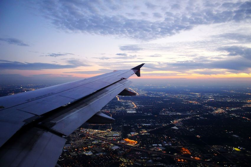 Over the City Catching A Flight Citylights Overthecity Sitram Photo's Lookdown LouisianaPattern Pieces