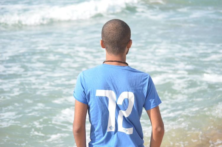 72 Martyrs In Portsaid Massacre .. Never Forget <3 72 Blue Martyrs Nature Rear View Sea T-shirt Water First Eyeem Photo