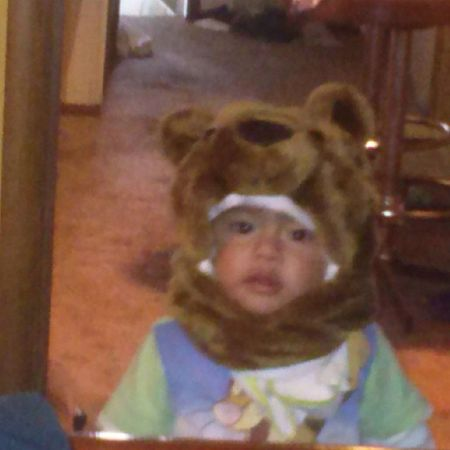 There's a bear in my house!! Lol TooCute BearBeanie Bryan