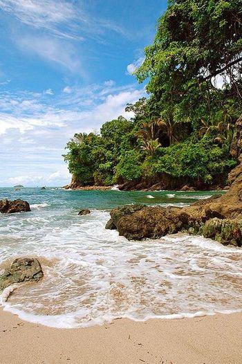 Beach #sun #nature #water #TagsForLikes.com #TagsForLikesApp #TFLers #ocean #lake #instagood #photooftheday #beautiful #sky #clouds #cloudporn #fun #pretty #sand #reflection #amazing #beauty #beautiful #shore #waterfoam #seashore #waves #wave Costa Rica