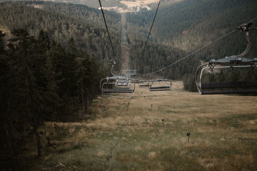 Zlatibor, Serbia Beauty In Nature Day Landscape Mountain Outdoors Overhead Cable Car Ski Lift Zlatibor
