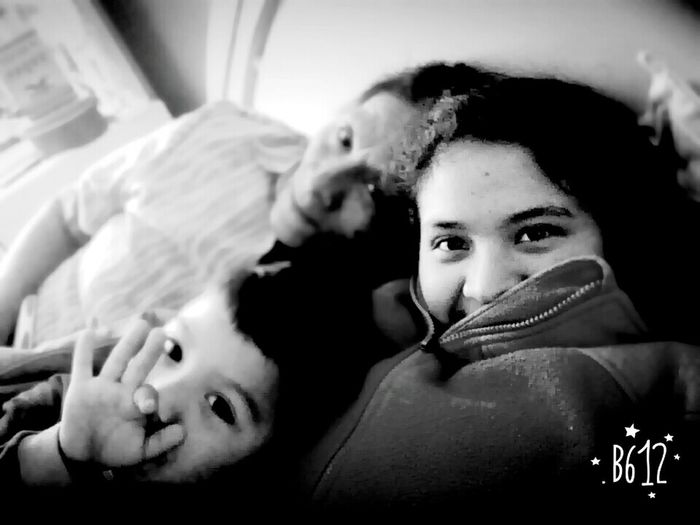 With my mon and my cousin... MORELOVE!