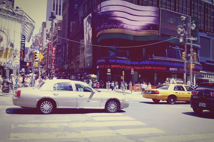 Time Square stands still TimesSquare NYC Citylife Downtown Standstill