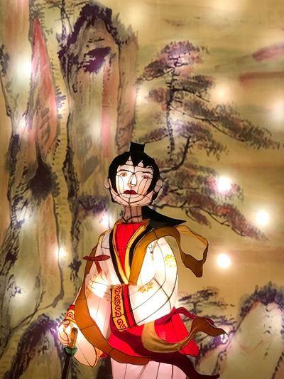 Illuminated christmas lights