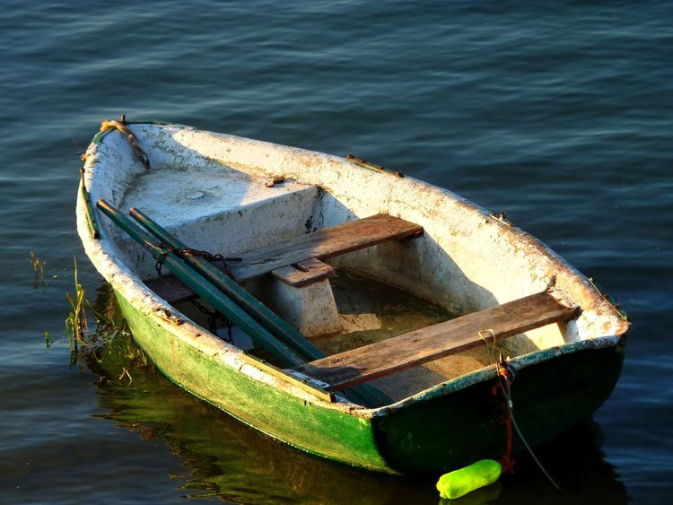 Boat Boats⛵️ From My Point Of View Getting Inspired Jezioro żywieckie Lake Outdoors Poland Rowboat Water