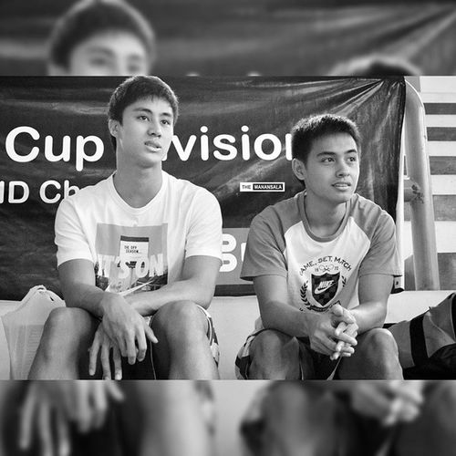 2014 in Review: Team Ateneo's @earlmurphy @franasuncion 🏀 . . . Fmc FrMartinCup Admu Ateneo blueeagles agb ateneogloryb hoop ballers basketball themanansala