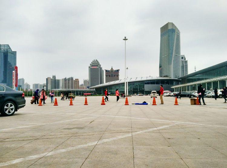 Rainy day Taking Photos Building China City Cityscapes Harbin Taking Photos Rainy Days Rainy