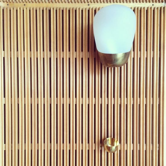 Perfect Match Architectural Detail at Rådhuset in Aarhus Great Architecture by ArneJacobsen