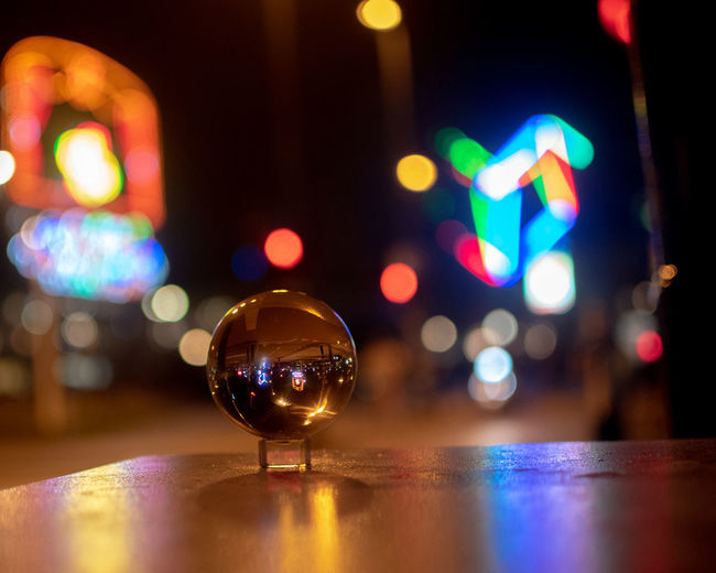 Bar - Drink Establishment Close-up Defocused Drink Focus On Foreground Food And Drink Glass Glass - Material Illuminated Indoors  Lens Flare Light - Natural Phenomenon Multi Colored Night Nightlife No People Reflection Refreshment Selective Focus Still Life Table EyeEmNewHere