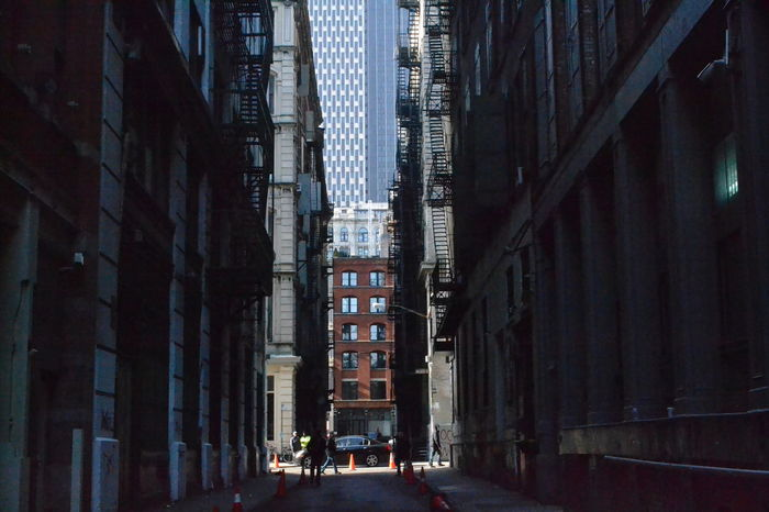 Architecture Built Structure Building Exterior Outdoors Day No People Alleyway AlleyShots City