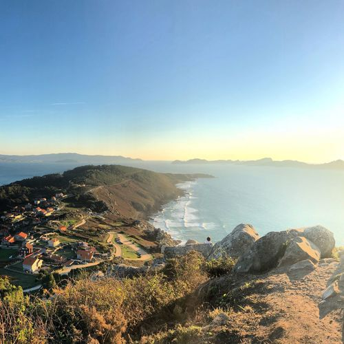 SPAIN Galicia Islas Cies Illas Cìes Donón Cangas Vigo Water Sky Beauty In Nature Scenics - Nature Sea Nature Tranquility Beach Land Idyllic Mountain Sunlight Clear Sky Outdoors Copy Space Sunset Tranquil Scene Plant No People