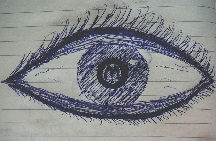 Definitely looked better in my head lol EyeEm Quick Sketch Drawing Having Fun Illustration Creativity Eye M EyeEm Gallery Eyeem Logo EyeEm Drawing Eyeem Sketch