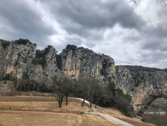 Ardeche Pont D'arc Sky Cloud - Sky Day Outdoors Nature Tree Real People