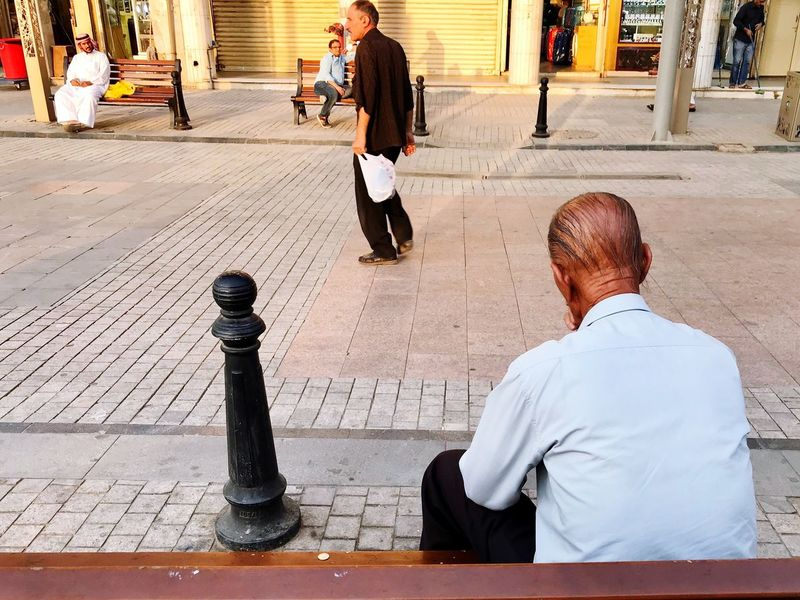 Mature Adult Outdoors Adult City Kuwaitsp Kuwaitstreetphotography Kuwaitstreetphotographer EverydayStreet Streetlifephotography Peopleinthestreet Streetphoto Everydaypeople Ordinarypeople Similarity